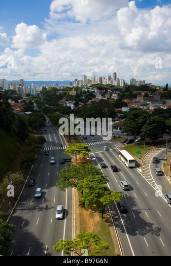 City of São Paulo - Stock Image