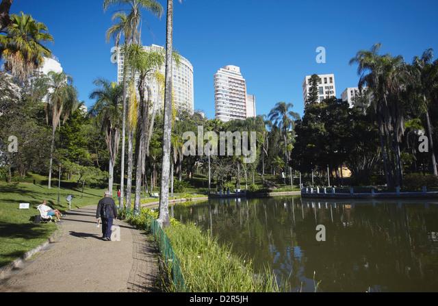 Parque Municipal, Belo Horizonte, Minas Gerais, Brazil, South America - Stock-Bilder