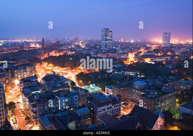 City centre, Mumbai (Bombay), India - Stock-Bilder