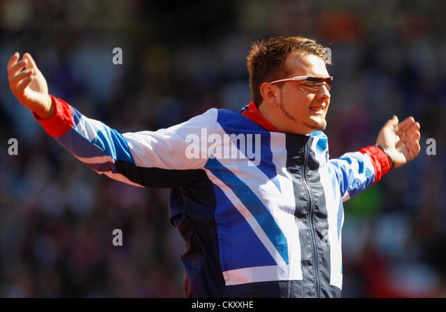 2012 Summer Paralympics �13 Mens shot put F54-56
