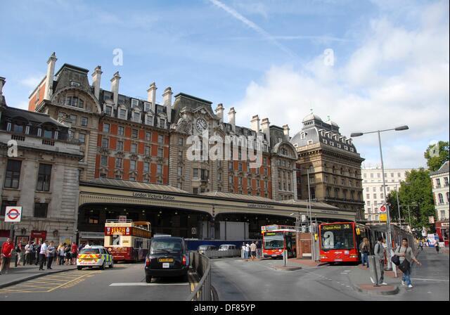victoria coach station westminster london stock photos. Black Bedroom Furniture Sets. Home Design Ideas