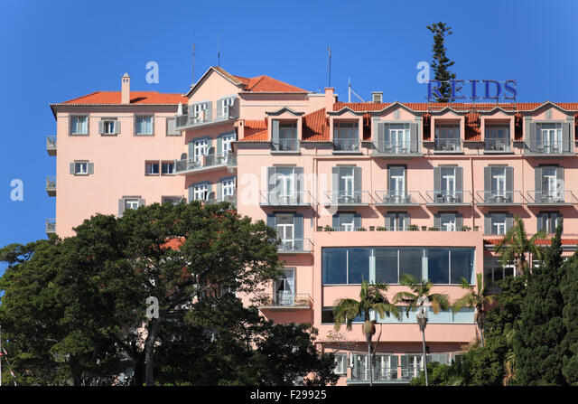 madeira funchal hotel reids palace stock photos madeira funchal hotel reids palace stock. Black Bedroom Furniture Sets. Home Design Ideas