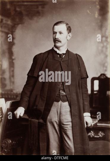 Daniel John Cunningham (1850-1909) - Stock-Bilder