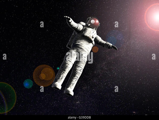 astronaut floating in space image - photo #35
