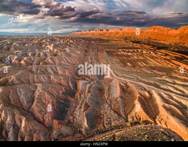 Comb Ridge  and Comb Wash,  Proposed Bears Ears National Monument, Utah  Near San Juan River and Bluff, Utah - Stock-Bilder