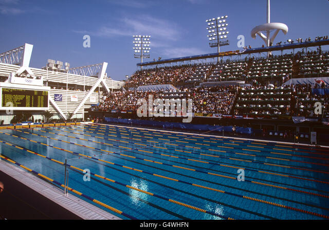 Bernat picornell swimming pool stock photos bernat picornell swimming pool stock images alamy - Piscines municipals barcelona ...