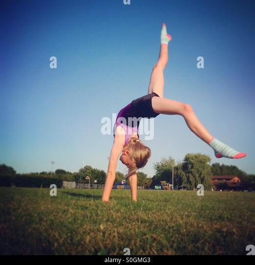 Gymnastics - Stock Image
