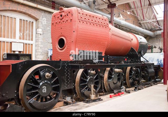 Steam Locomotive Boiler Construction