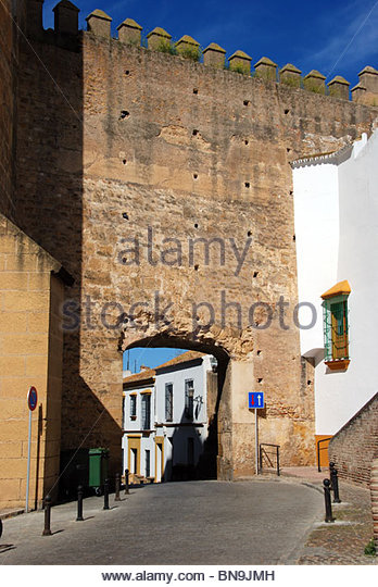 Carmona seville province andalucia spain stock photos - Puerta de sevilla carmona ...