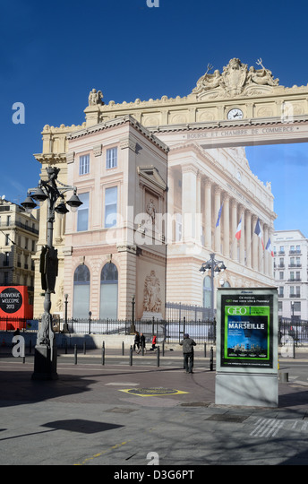 La bourse de commerce stock photos la bourse de commerce for Chambre de commerce italienne marseille