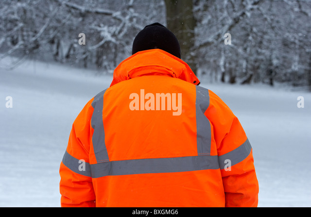 Winter day belfast stock photos winter day belfast stock for Ikea safety vest