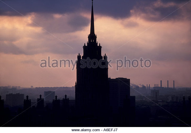 Moscow Ministry of Foreign Affairs - Stock Image