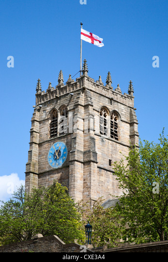 St Peters Cathedral Church, City of Bradford, West Yorkshire, England - Stock Image