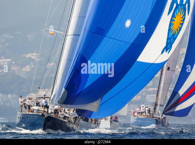 Yacht Sailing Race - Stock Image