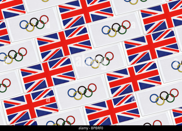 2012 Great Britain Olympics - Stock Image