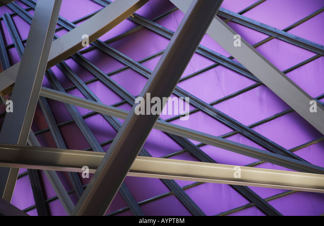 Detail, modern architecture, La Rioja, Spain - Stock Image