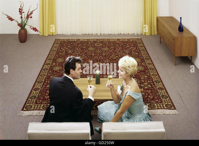 1960s couple stock photos 1960s couple stock images. Black Bedroom Furniture Sets. Home Design Ideas