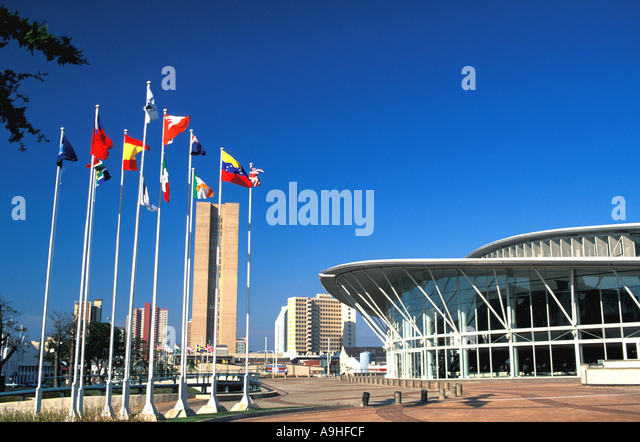 South Africa Durban Convention Center - Stock Image