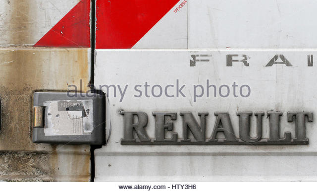 renault logo stock photos renault logo stock images alamy. Black Bedroom Furniture Sets. Home Design Ideas