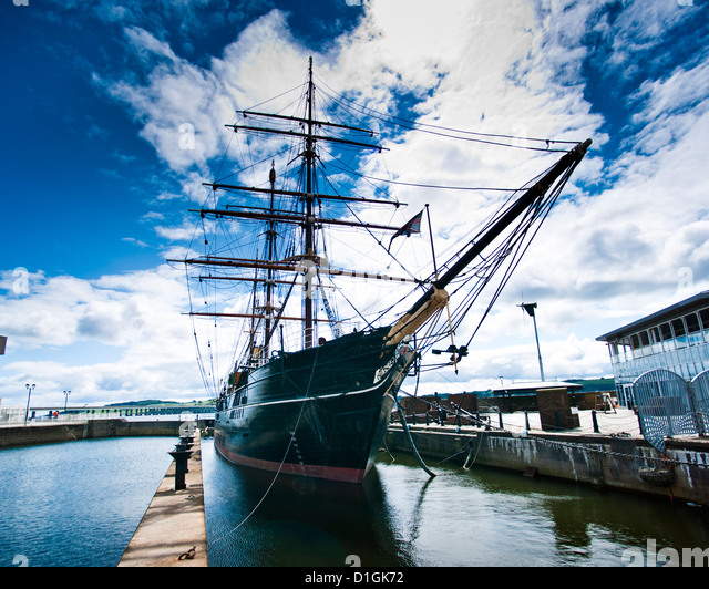 The RRS Discovery, Discovery Museum. Dundee, Scotland, United Kingdom, Europe - Stock Image