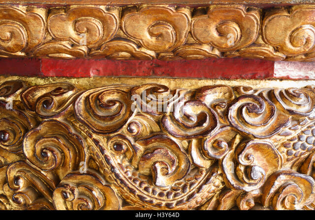 Buddhism carving lotus stock photos buddhism carving for Exquisite stone