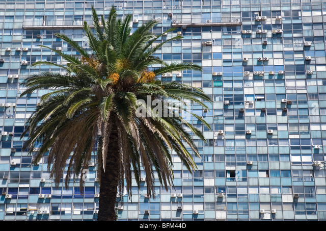 Plaza Independencia, Montevideo, Uruguay - Stock Image