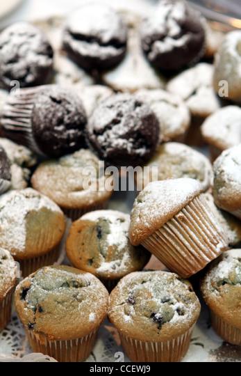 Muffins - Stock Image
