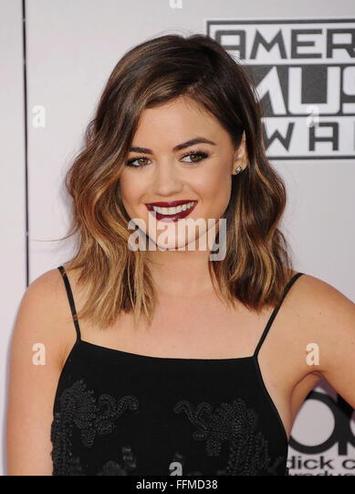 Lucy Hale, 23.11.2014 - Stock Image
