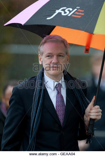 WikiLeaks founder Julian Assange arrives for the final day of his extradition hearing at Belmarsh Magistrates' - Stock Image