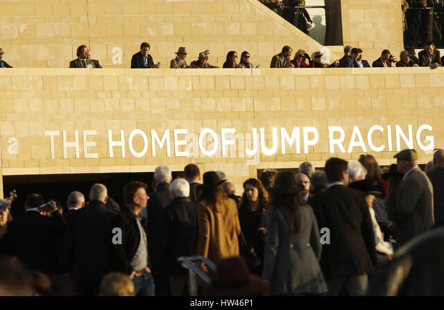 Cheltenham, UK. 15th Mar, 2017. 15.03.2017 - Cheltenham; Impressions of the 2017 Cheltenham Festival - Day two at - Stock Image
