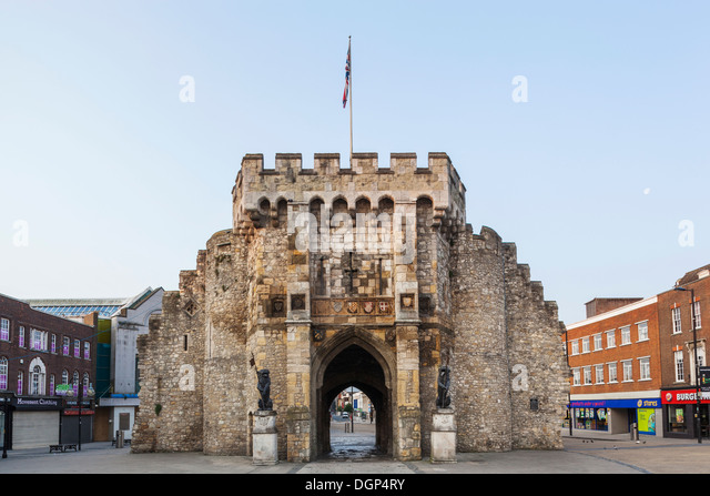 England, Hampshire, Southampton, Bargate - Stock-Bilder