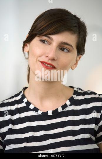Woman thinking - Stock-Bilder