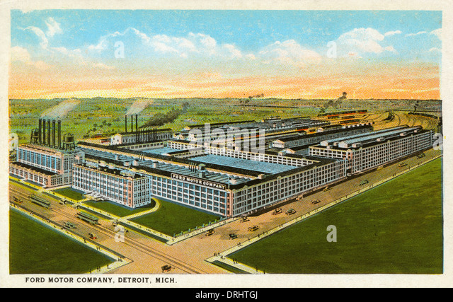 Factory Ford Detroit Stock Photos Factory Ford Detroit
