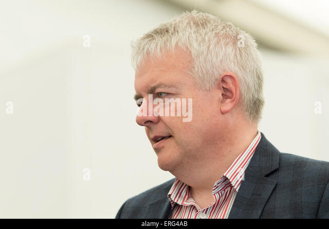 First Minister of Wales Carwyn Jones. - Stock Image