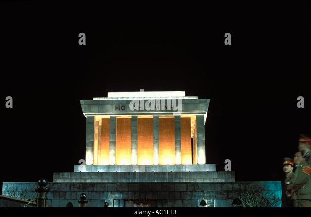 Vietnam, Hanoi, Ho Chi Minh Mausoleum - Stock Image