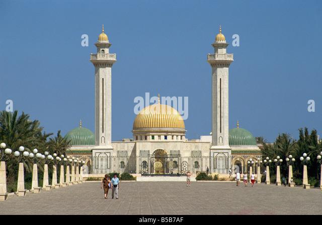Bourguiba Mausoleum, Monastir, Tunisia, North Africa, Africa - Stock Image