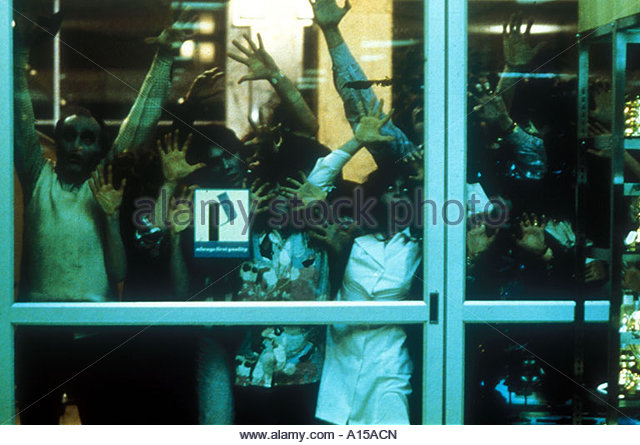 Dawn Of The Dead Year 1978 Director George A Romero - Stock Image