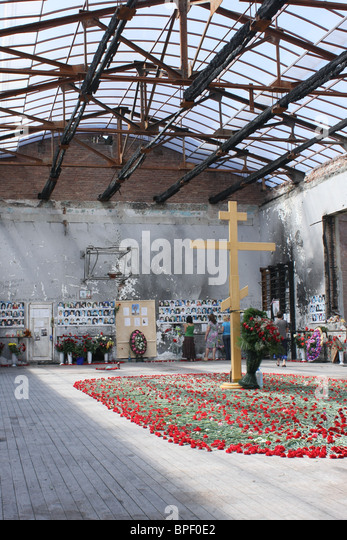 4th anniversary of Beslan Tragedy - Stock Image