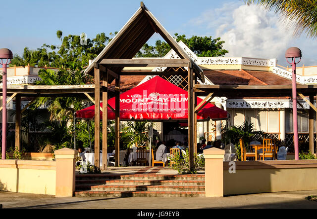 Pelican Village Craft Centre near Bridgetown Barbados cruise port - Stock Image