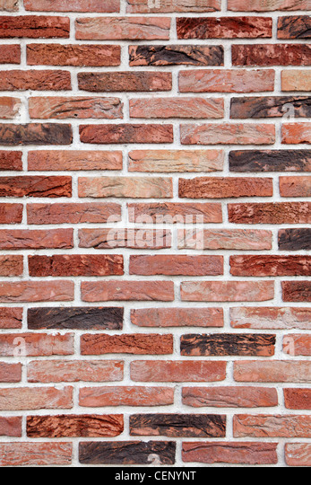 bricks of different colours - Stock Image