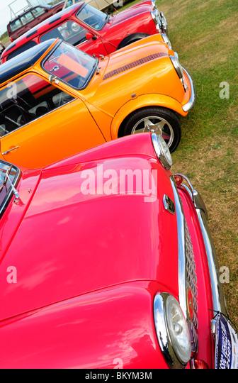 BMC Mini Car, Front Detail - 2010 - Stock Image