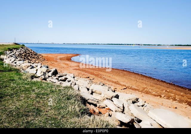 Hefner lake stock photos hefner lake stock images alamy for Lake hefner fishing