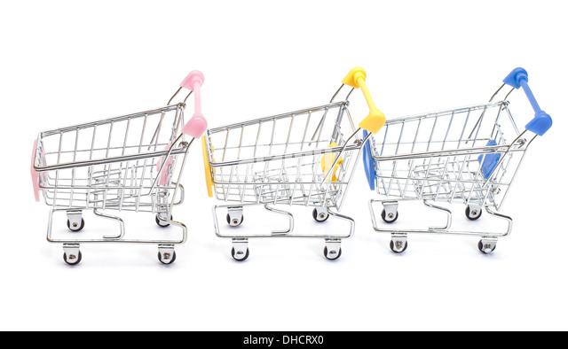 pushing trolley cart