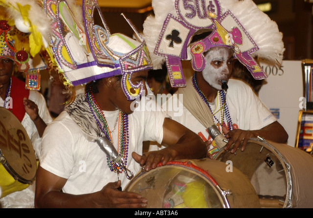 BAHAMAS Junkanoo Parade Costumes - Stock Image
