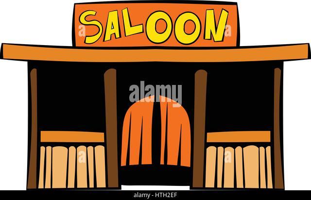 Wild west saloon stock photos wild west saloon stock - Dessin saloon ...