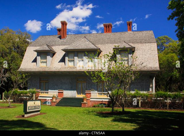 Horton House Jekyll Island Crane House
