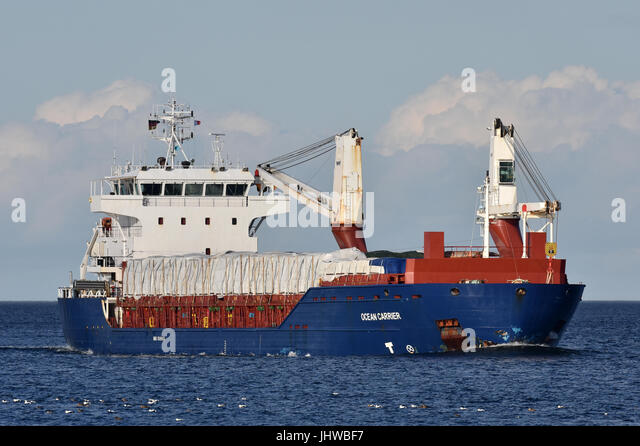 Ocean Carrier - Stock Image