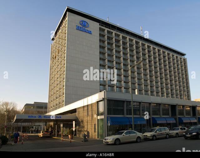 Hilton Hotel Belfast Car Park