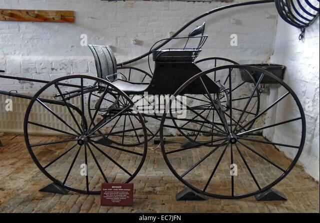 Buggy, late 19th - early 20th century - Stock Image