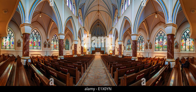 Holy Rosary Cathedral, Vancouver, British Columbia, Canada - Stock Image